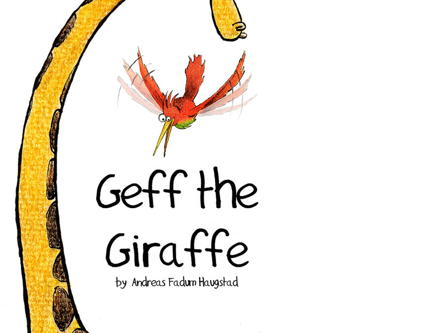 Geff the Giraffe by Andreas Fadum Haugstad